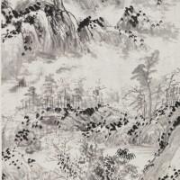 1003. 張洽 (1718-?) | 山水