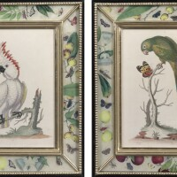1. a set of twelve hand-colored engravings from the natural history of uncommon birds after george edwards (1694-1773)