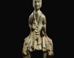 3627. 北魏 銅彌勒菩薩坐像 |
