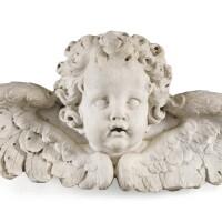 41. italian orfrench, late 17th / early 18th centuryhead of a cherub |