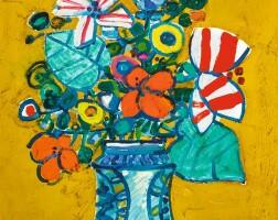 439. paul aïzpiri | bouquet de fleurs