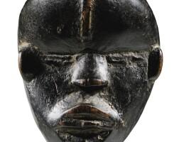 214. masquette, dan, côte d'ivoire |