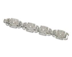 348. diamond bracelet, 1930s