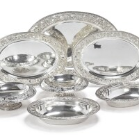 17. a group of american silver serving articles, gorham mfg. co., providence, ri, 1915-16 |