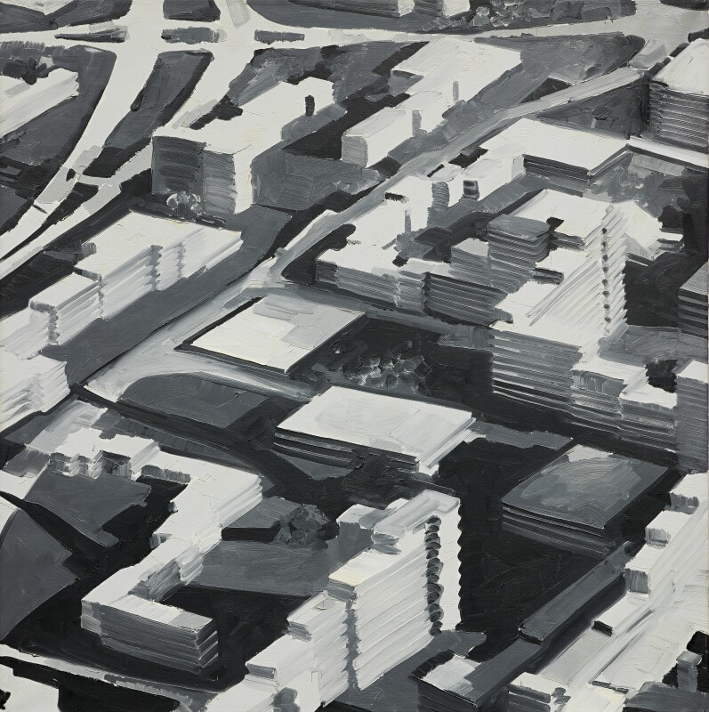 Gerhard Richter, Stadtbild Sa (Townscape Sa)
