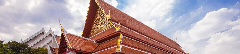 Exterior of National Museum, Bangkok.