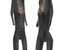 8. dogon or bamana male and female couple, mali