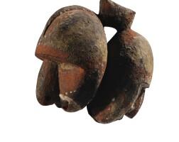 7. tête janus, abelam, province de l'east sepik, papouasie-nouvelle-guinée |