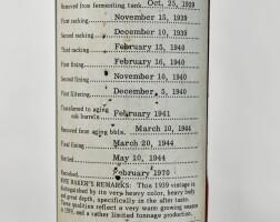 6203. beaulieu vineyard, georges de latour, private reserve 1939  
