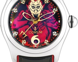 156. corum | bubble lucifer, reference 82.340.20 a limited edition stainless steel wristwatch, circa 2005
