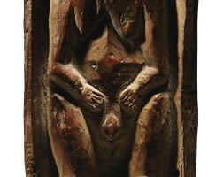 9. figurine au berceau, kanak, nouvelle-calédonie
