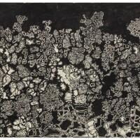 157. jean dubuffet | paysage aux filigranes
