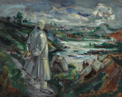 16. george campbell, r.h.a. | jack b. yeats, an impression