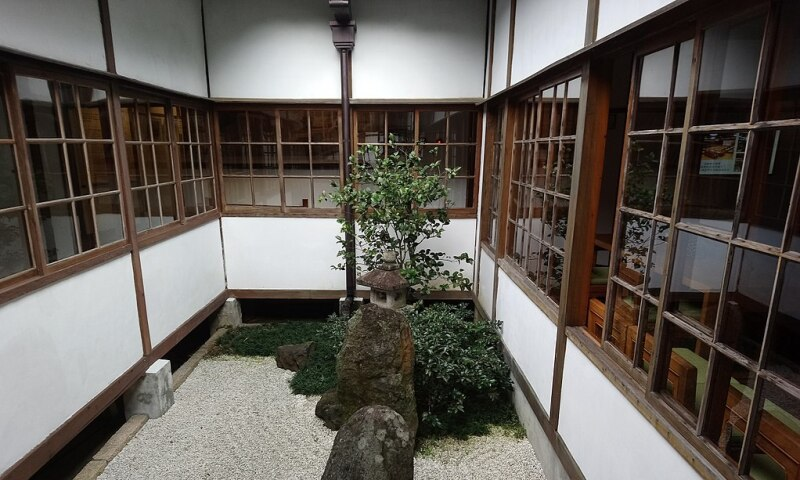 Interior view of the Beitou Museum in Taipei.
