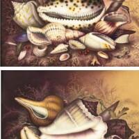 1. a pair of english porcelain rectangular plaques circa 1810-20