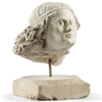 9. in 15th century stylehead of an angel |