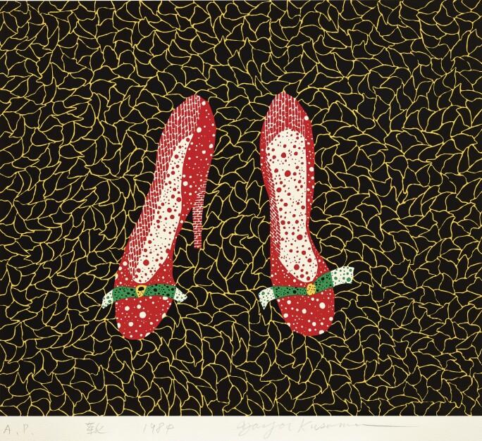 Yayoi Kusama, Shoes, 1984.jpg