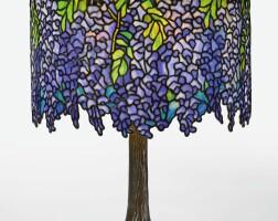 "326. tiffany studios | an important ""wisteria"" table lamp"