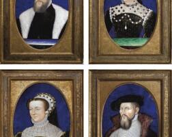8. france, limoges, xixe siècle, à la manière de léonard limosin (1505-1575)