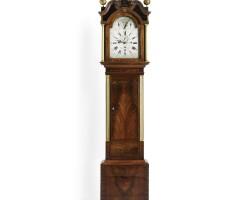 38. an english mahogany musical longcase clock, daye barker london circa 1780