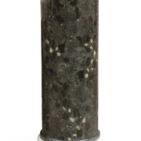 39. a scagliola and white marble column, 19th century  