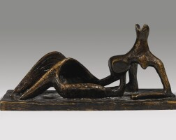 23. henry moore   small maquette no 1 for reclining figure