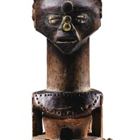 134. statue, songye, république démocratique du congo |