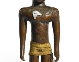 154. kamba male power figure, kenya