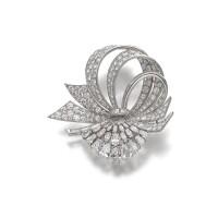 17. diamond brooch