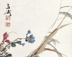 534. 王雪濤 1903-1982 | 秋菊飛禽