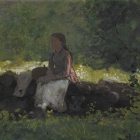 78. winslow homer | on the fence