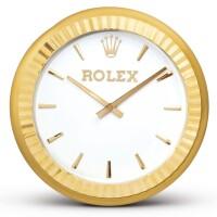 2003. 勞力士 | 黃銅製掛鐘,約2000年製。
