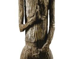 125. statue hampatong, dayak, kalimantan, borneo, indonésie |