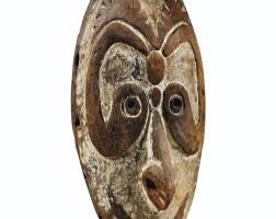33. masque, bas sepik, papouasie-nouvelle-guinée