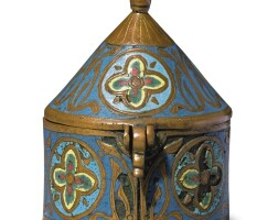 12. french, limoges, circa 1200