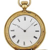 194. 百達翡麗(patek philippe) | 黃金懷錶,1860年製。