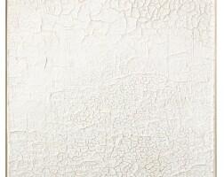 10. alberto burri | bianco cretto